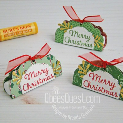 Stampin' Up Easy Lip Balm Holders