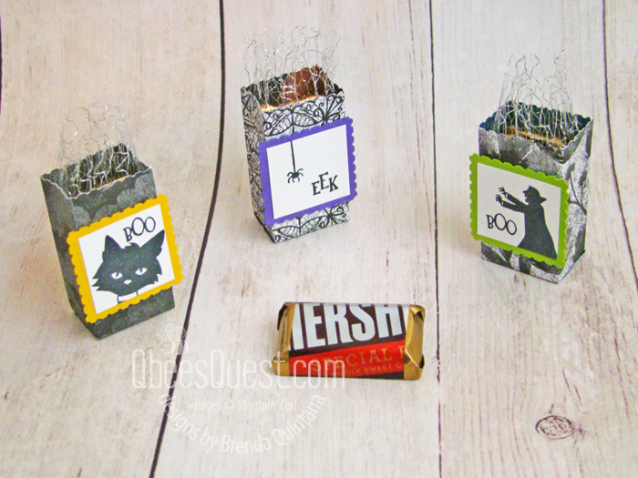 Stampin' Up Ghoulish Goodies Mini Treat Sacks