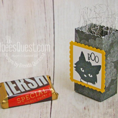 Stampin' Up Ghoulish Goodies Mini Treat Sacks