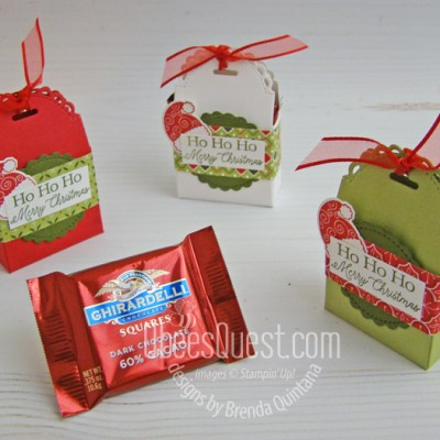 Ghirardelli Squares Treat Boxes