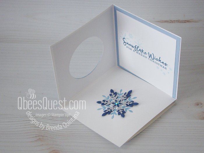 Triangle Corner Fancy Fold Card