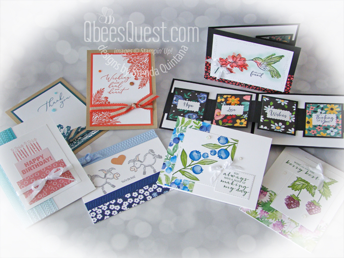 Stampin' Up Sale-a-bration 2021 Samples