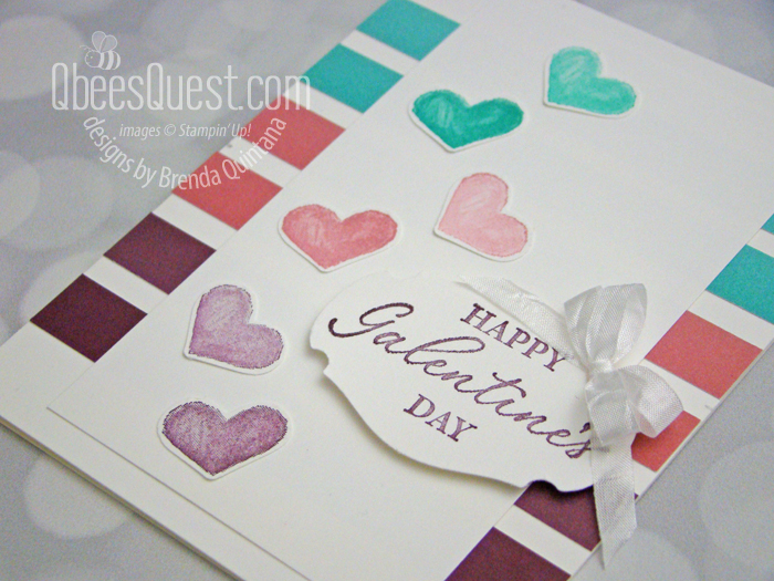 Stampin' Up Happy Galentine's Day Card