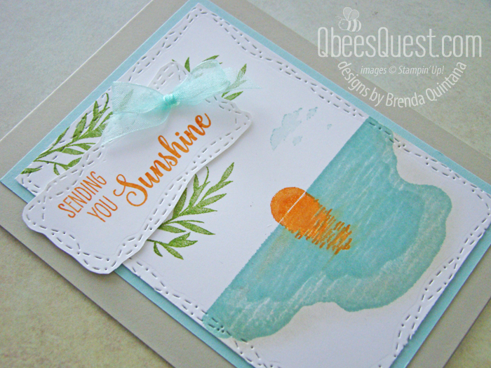 Stampin' Up Sending Sunshine Card