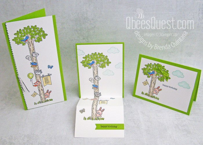 Woodland Wonder Fancy Fold Card