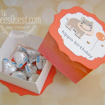 Stampin' Up Hippo & Friends Box