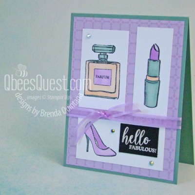Stampin' Up Dressed to Impress Card