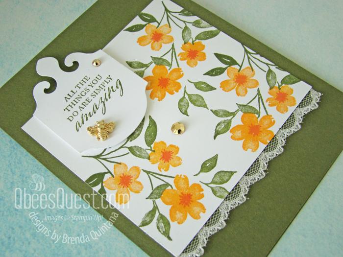 Stampin' Up Elegantly Said Card