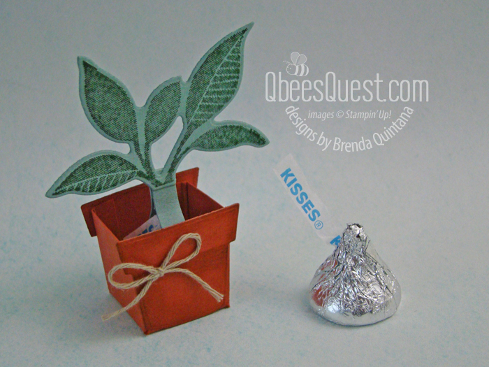 Hershey's Kiss Potted Plant