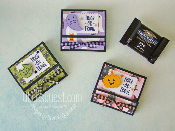 Ghirardelli Squares Matchbook Holders