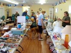Garage Sale at Rotary House