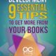 "image of book cover - ""Personal Development: 9 Essential Tips To Get More From Your Books"""