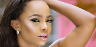 Toke Makinwa Nigerian social media celebrity