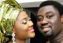 Mercy Johnson and husband Prince Odianosen Okojie