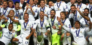 Real Madrid win 2016 UEFA Super Cup