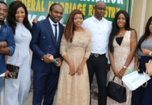 Laura Ikeji marries Kanu Nwankwo brother