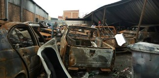 Cars burnt as South Africans attack Nigerians Xenophobia