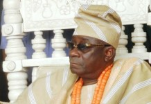 The Oba of Lagos Rilwan Akiolu