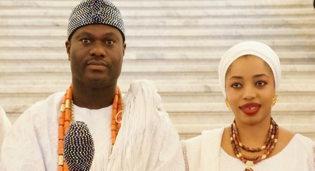 Lovely photos of Ooni of Ifes young queen, Olori Naomi as
