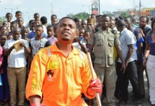 Olamide leads Sterling Bank Skate and Clean flash mob
