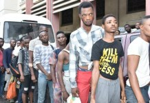 Lagos arraigns 40 over homosexuality