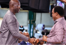George Weah and TB Joshua
