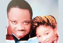 Olaoluwa Adejo and late wife Maureen