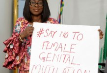 Bolanle Ambode campaigns against female genital mutilation