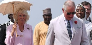 Prince Charles and wife arrive Nigeria 2