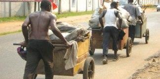 Cart-pusher