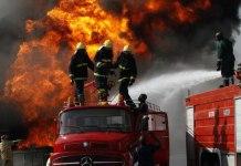 tanker explosion fire