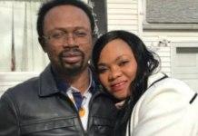 Joshua Joshua Iginla and wife Yemisi