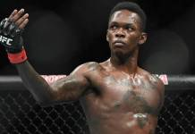 Israel Adesanya UFC champion