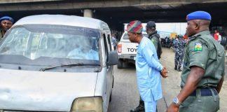 Obafemi Hamzat confronts traffic violators