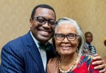 Akinwumi Adesina and Grace Alele-Williams