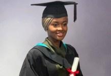 Hanan Buhari graduates from UK Varsity
