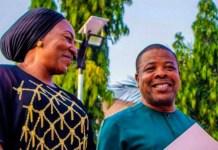 Emeka Ihedioha and wife