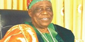Ogiyan of Ejigbo Osun Oba Omowonuola Oyesosin