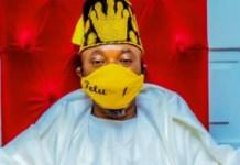 Oluwo of Iwoland Oba Abdulrasheed Akanbi