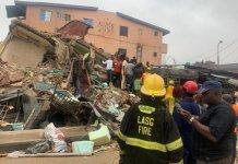 Lagos Island building collapse -