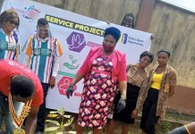 Rotaract Club of Omole-Golden embarks on tree planting project