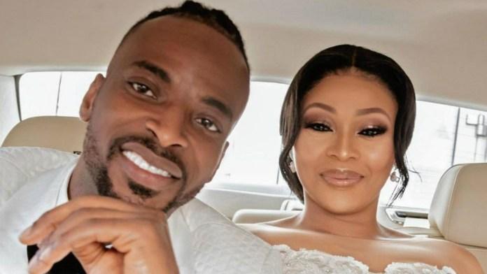 9ice and wife Olasunkanmi Ajala