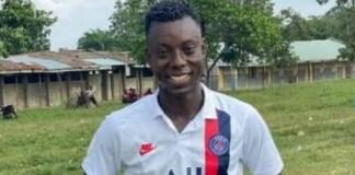 Late Ogbomoso United FC player Rasaq-Adetayo