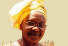 Toni Kan's mum Patricia Onwordi