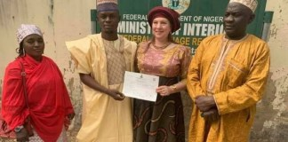 American woman who married Kano man
