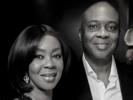 Bukola Saraki and wife Toyin