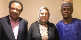 Isa Suleiman, Janine Sanchez and Shehu Sani