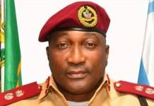 Lagos FRSC commander Olusegun Ogungbemide