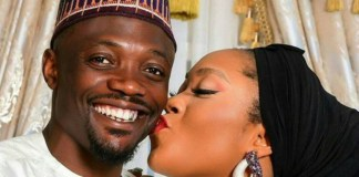 Ahmed Musa and wife Juliet
