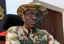 Chief of defence staff Leo Irabor